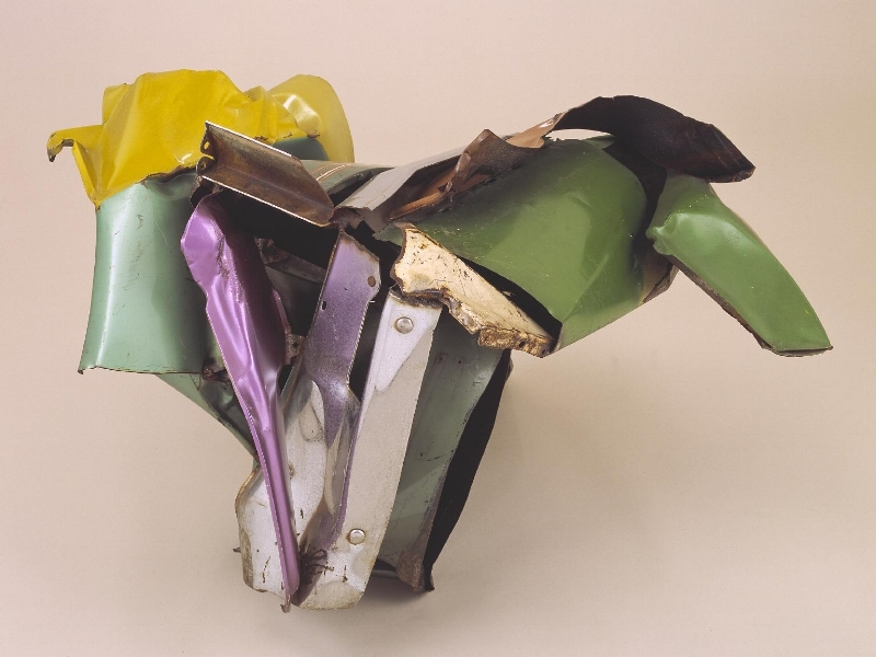 'Kora', John Chamberlain, Tate Modern