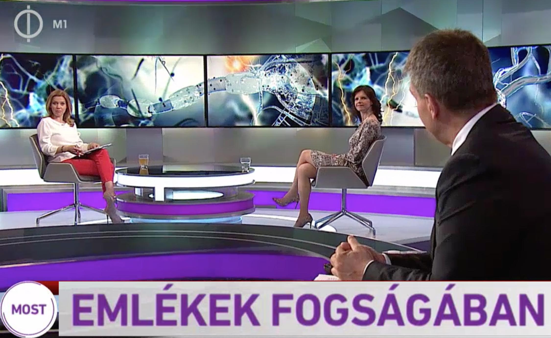 MTV1 televízió interjú