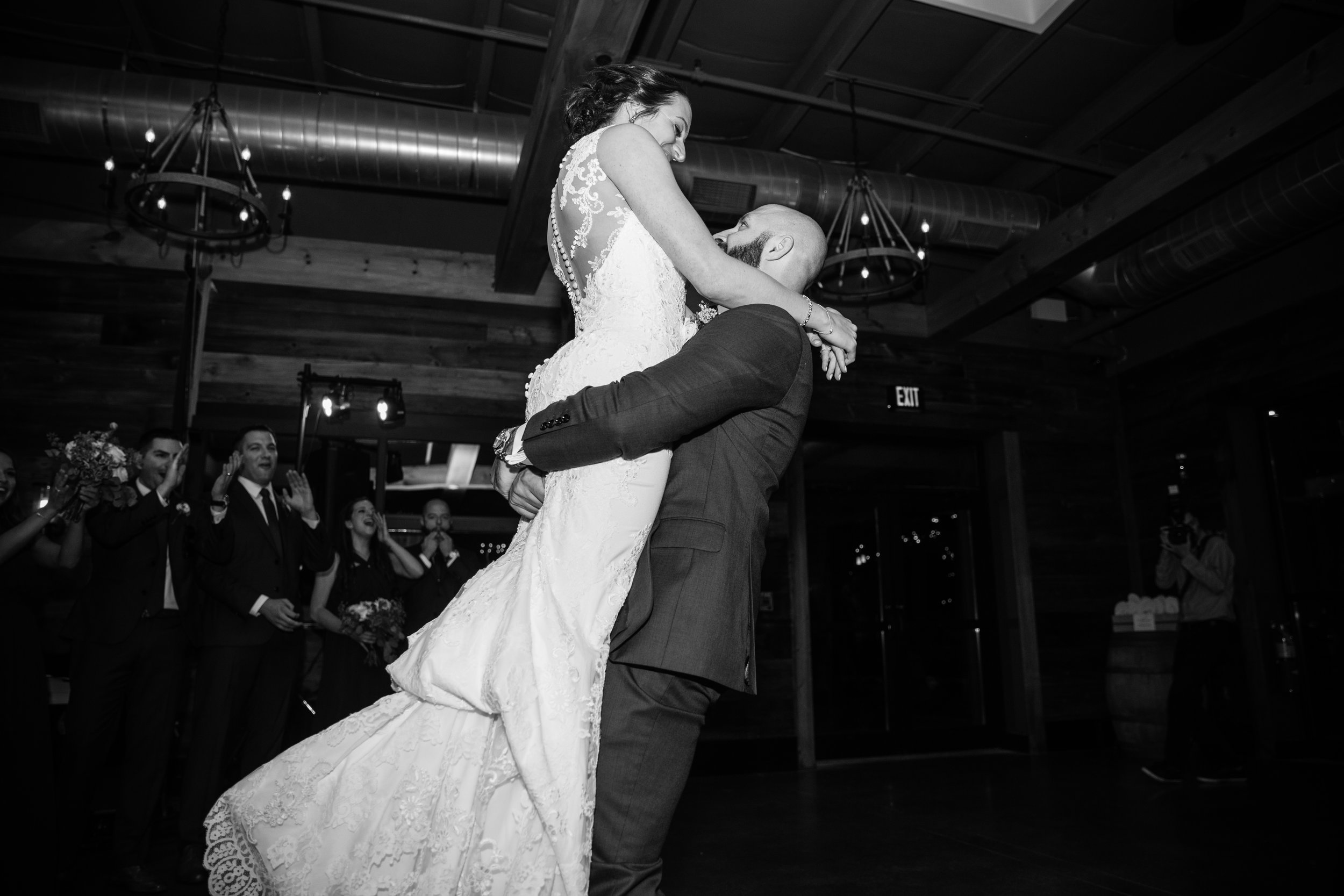 We LOVED working with Kendall - at db Studios for our wedding. We learned the foxtrot for our first dance that finished with a lift and dip (true crowd pleaser). My now husband and I had such a good time taking lessons together we definitely will continue in the future. For first dance, date night, whatever - just take lessons with Kendall, you won't regret it.