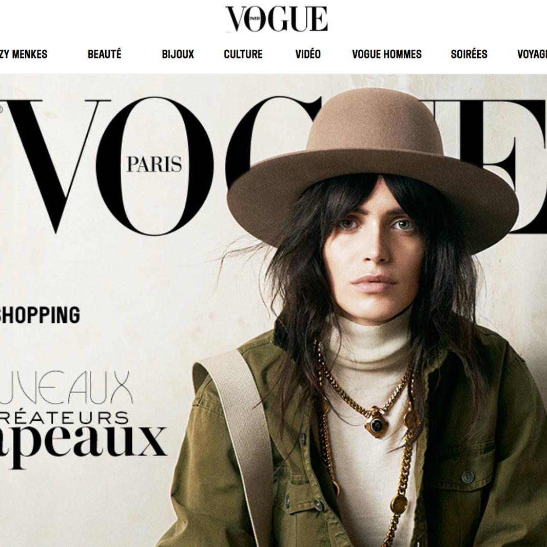 Vogue FRANCE - March, 2015