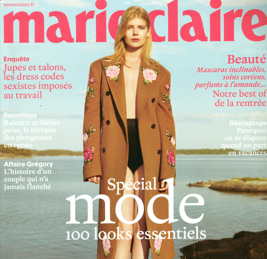 MARIE CLAIRE FRANCE - SEPTEMBER, 2017