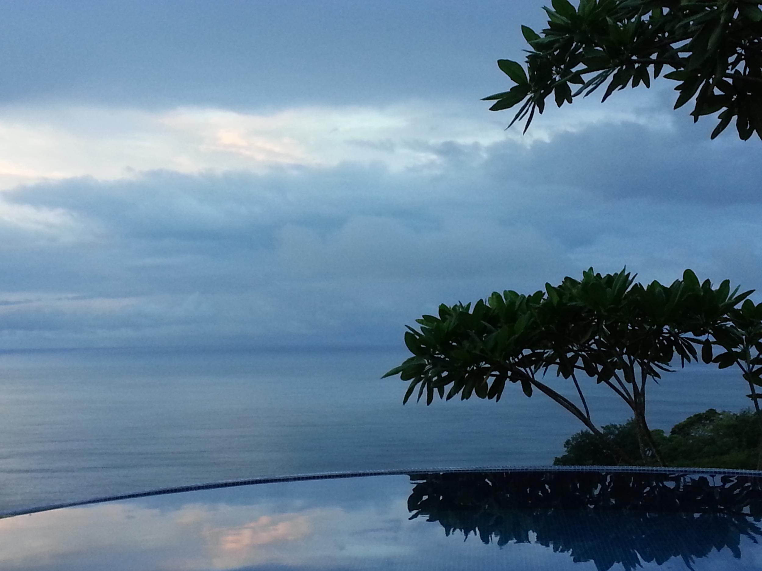 The infinity pool at Anamaya Resort