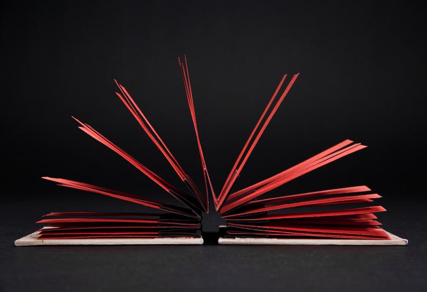 Kinetic Book Sculpture