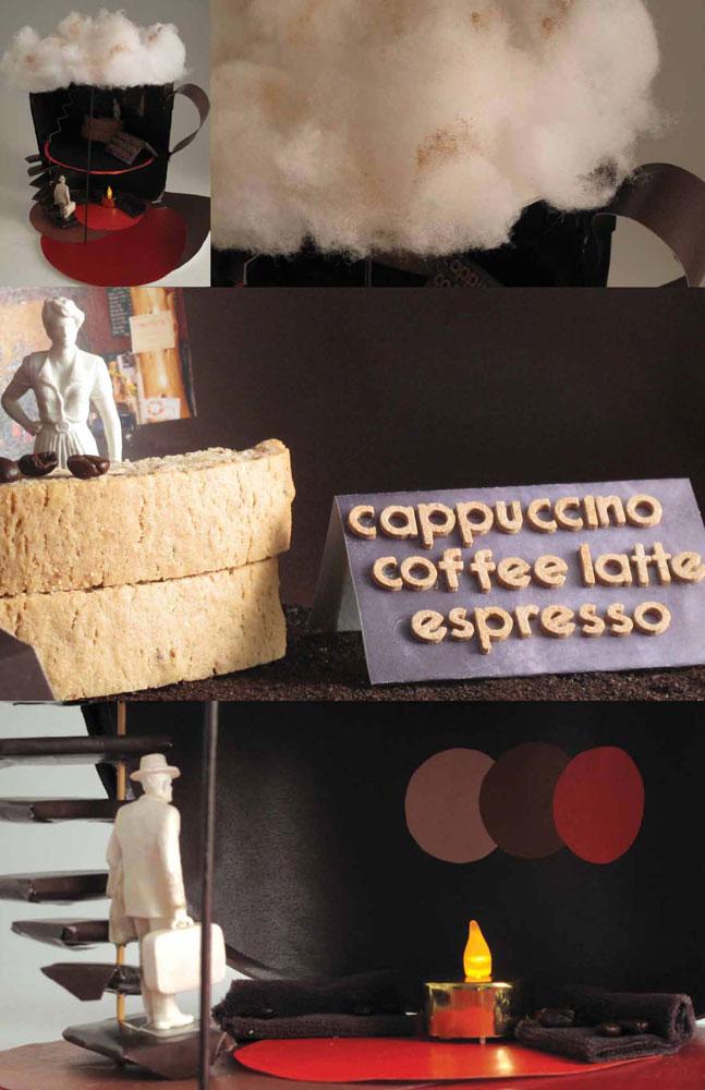 Inside a Coffee Bar (3D Model)