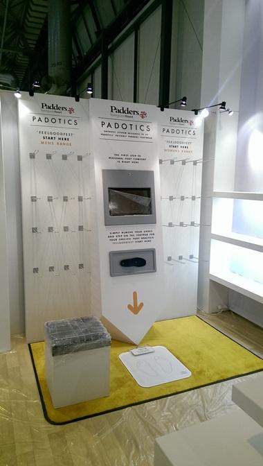 Prototype POS display wall