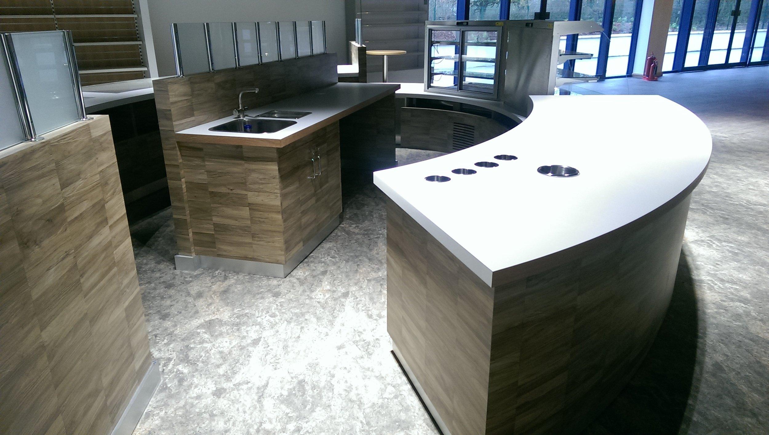 Hillbrush cafeteria servery visitor centre 2
