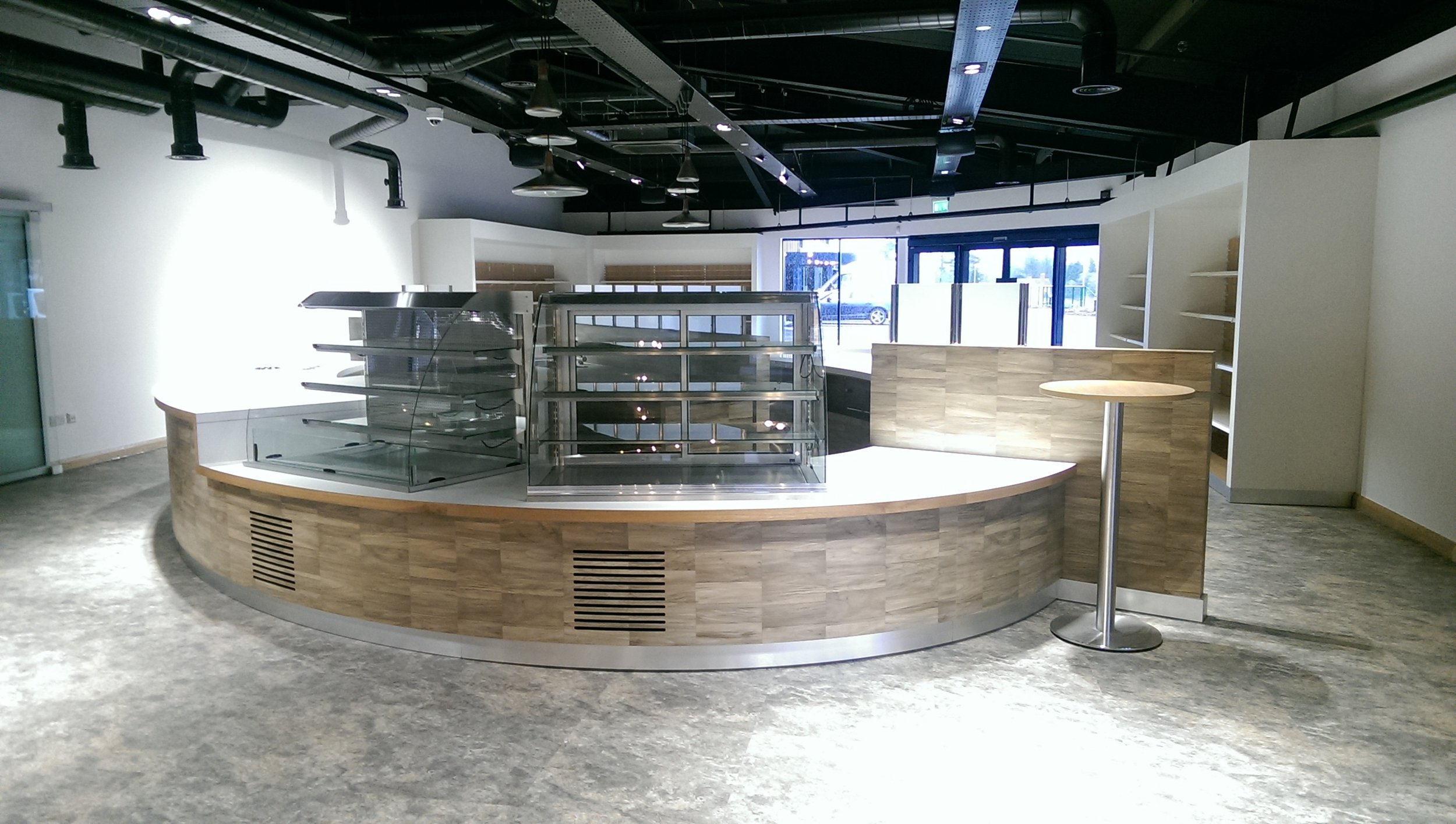 Hillbrush cafeteria servery visitor centre 1