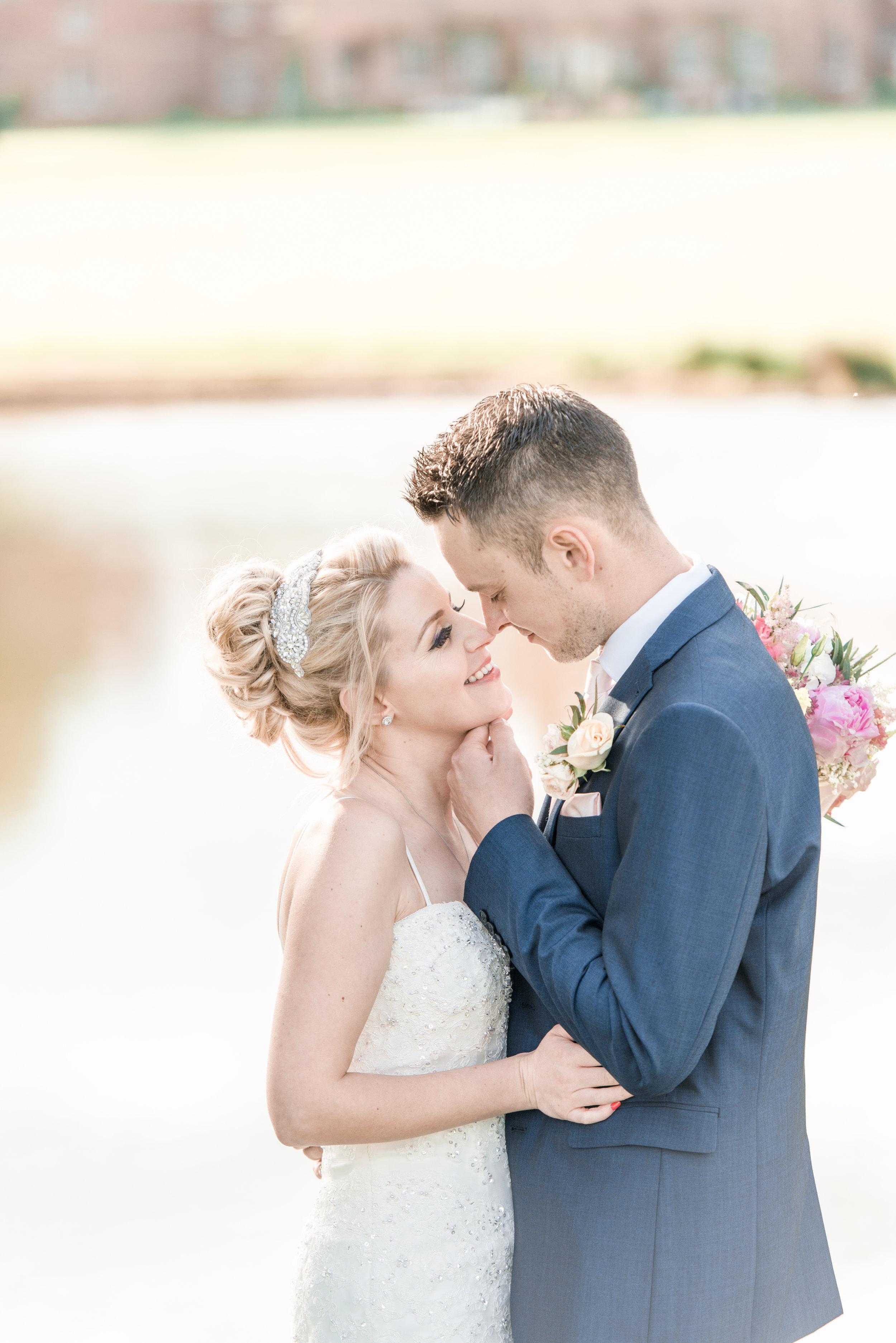 Kimberly & Adam Pawson, married at Norwood Park - Norwood Park Nottingham