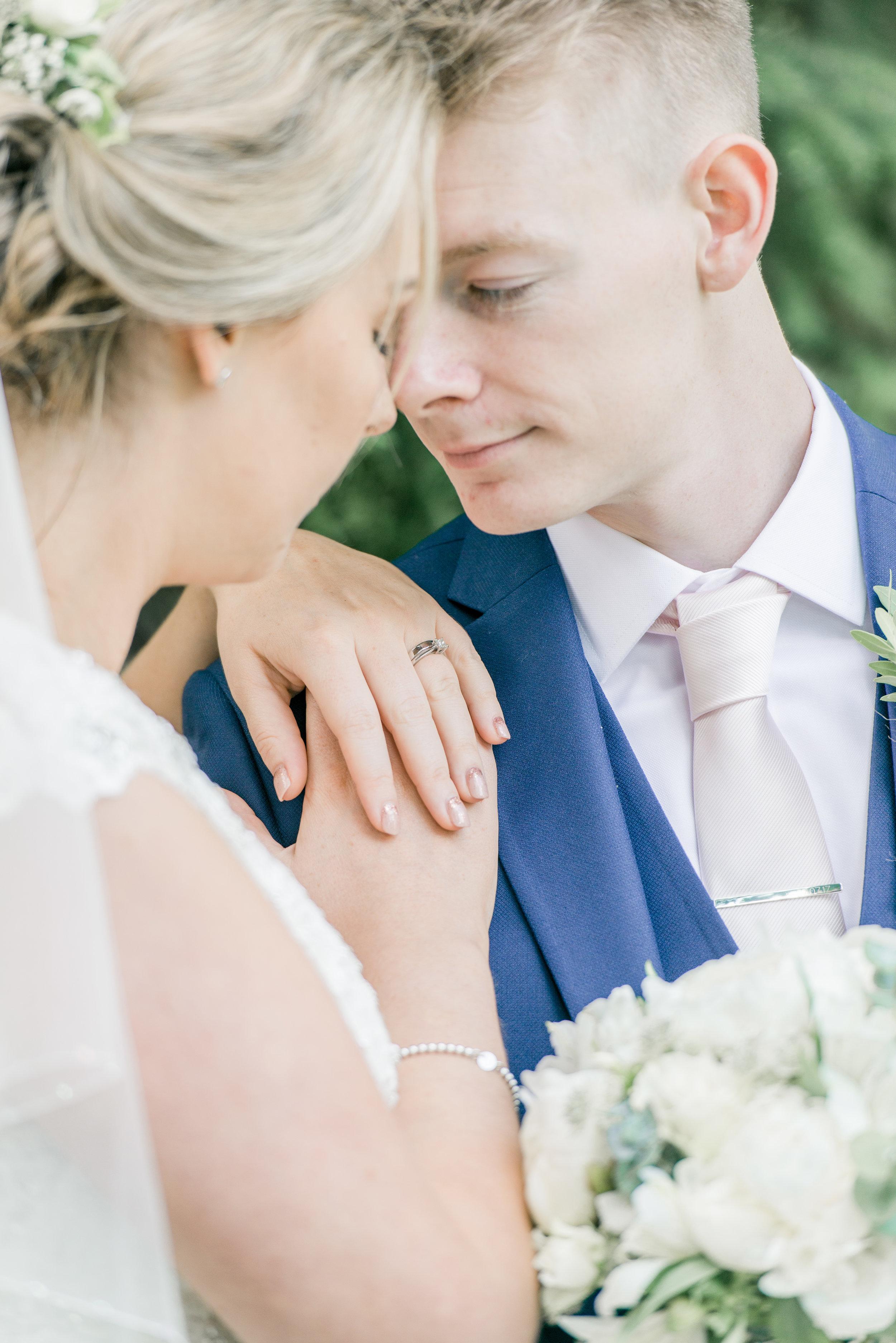 Chloe & Kelvyn at a home marquee wedding