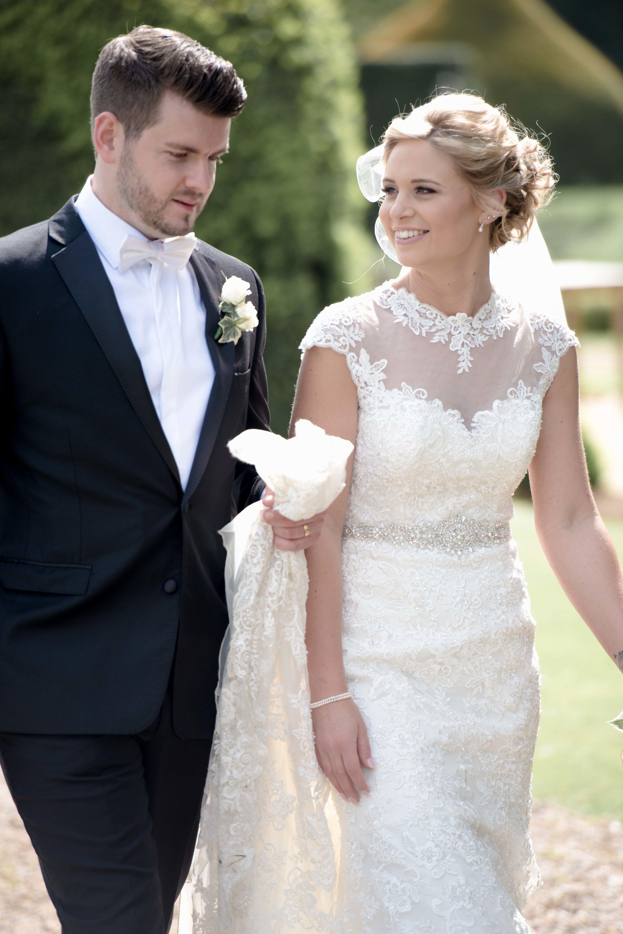 Amy and Brady's wedding at Stoke Rochford Hall