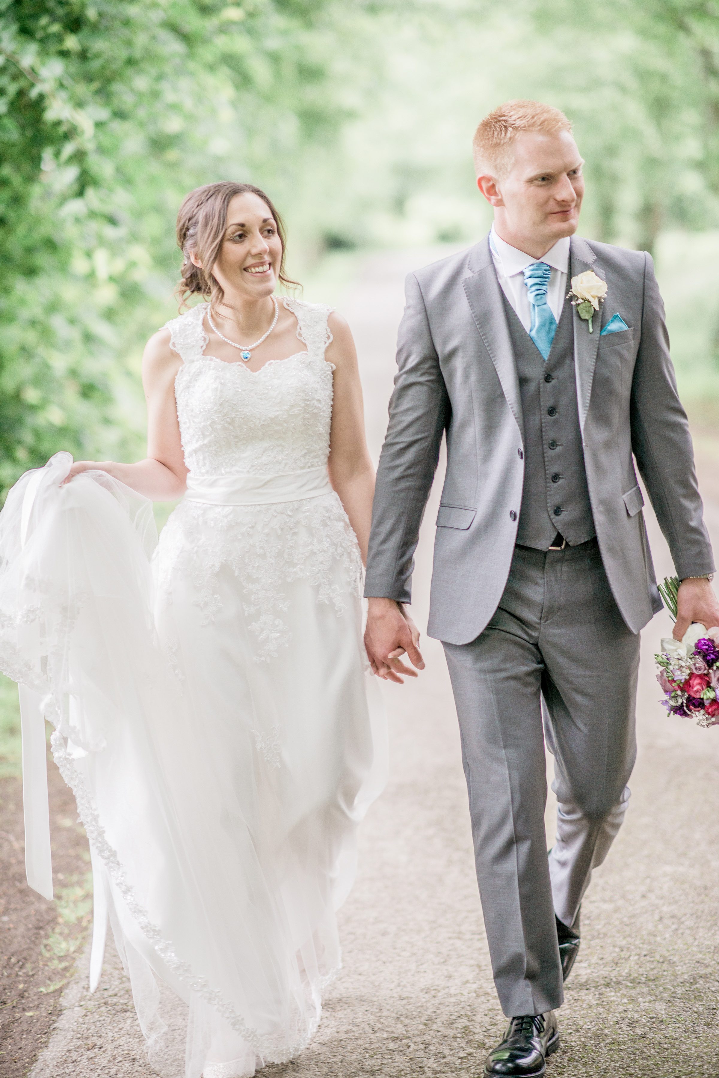 Hanna & Damian married at Dower House Woodall Spa