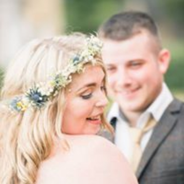 Emily and Marty married at Buckminster Barn