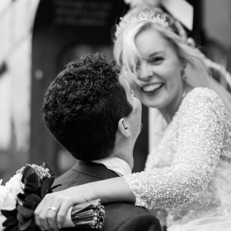 Chloe & Gary married at Stoke Rochford Hall