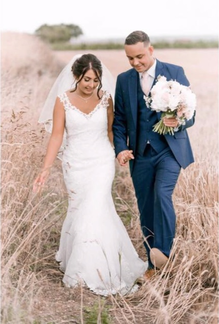 Alesha and Luke married at the wonderful Bassmead Manor Barns St Neots