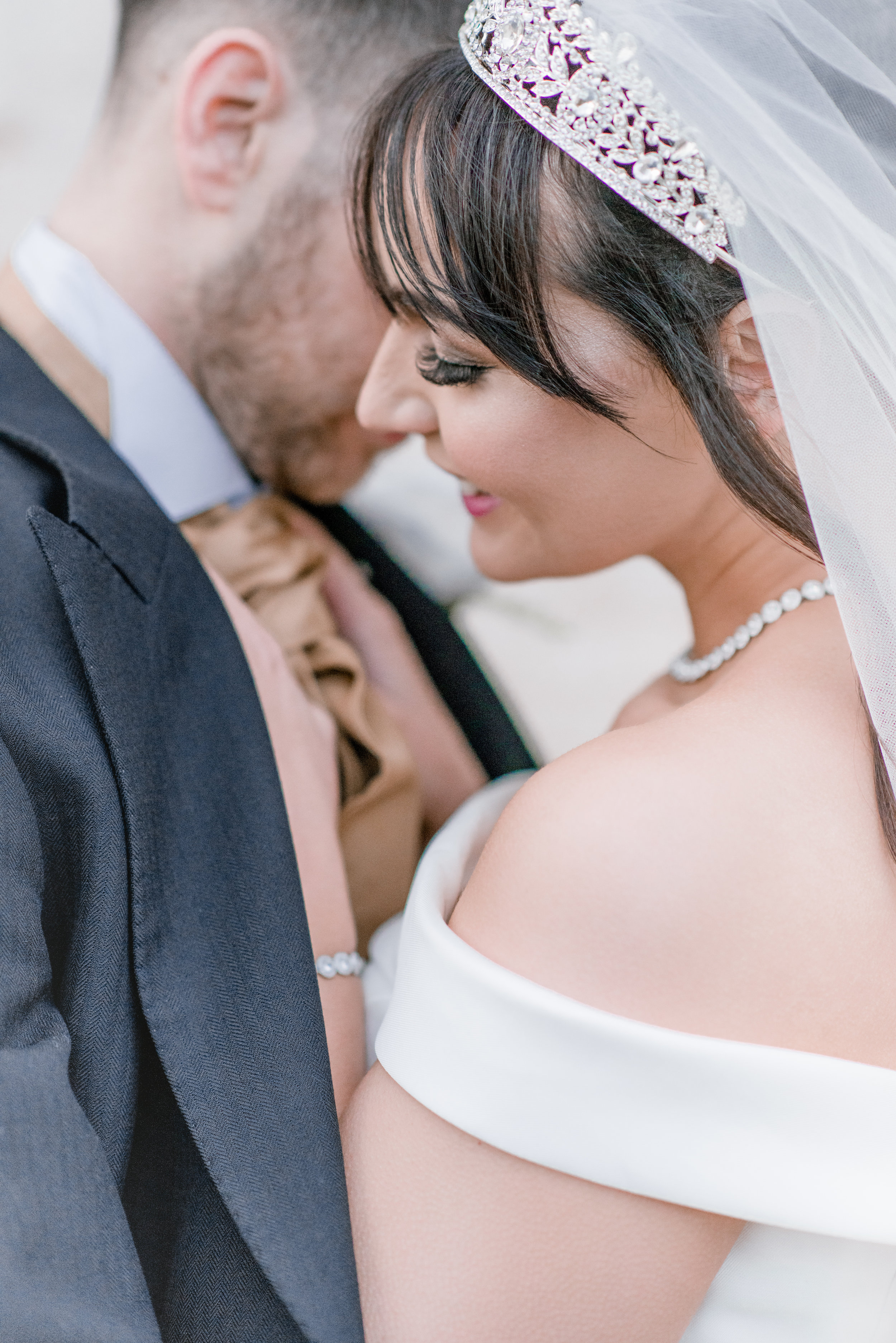 Emily and Aaron got married at the amazing Stapleford Hall