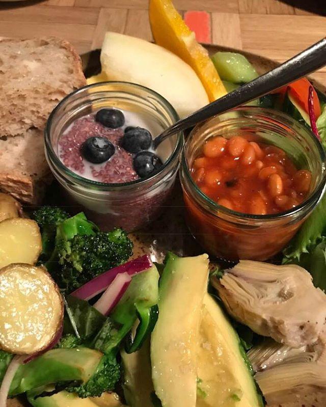 Vegan brunch 👌✨ Bergsson Mathús 💚  #vegan #veganbreakfast #veganuary
