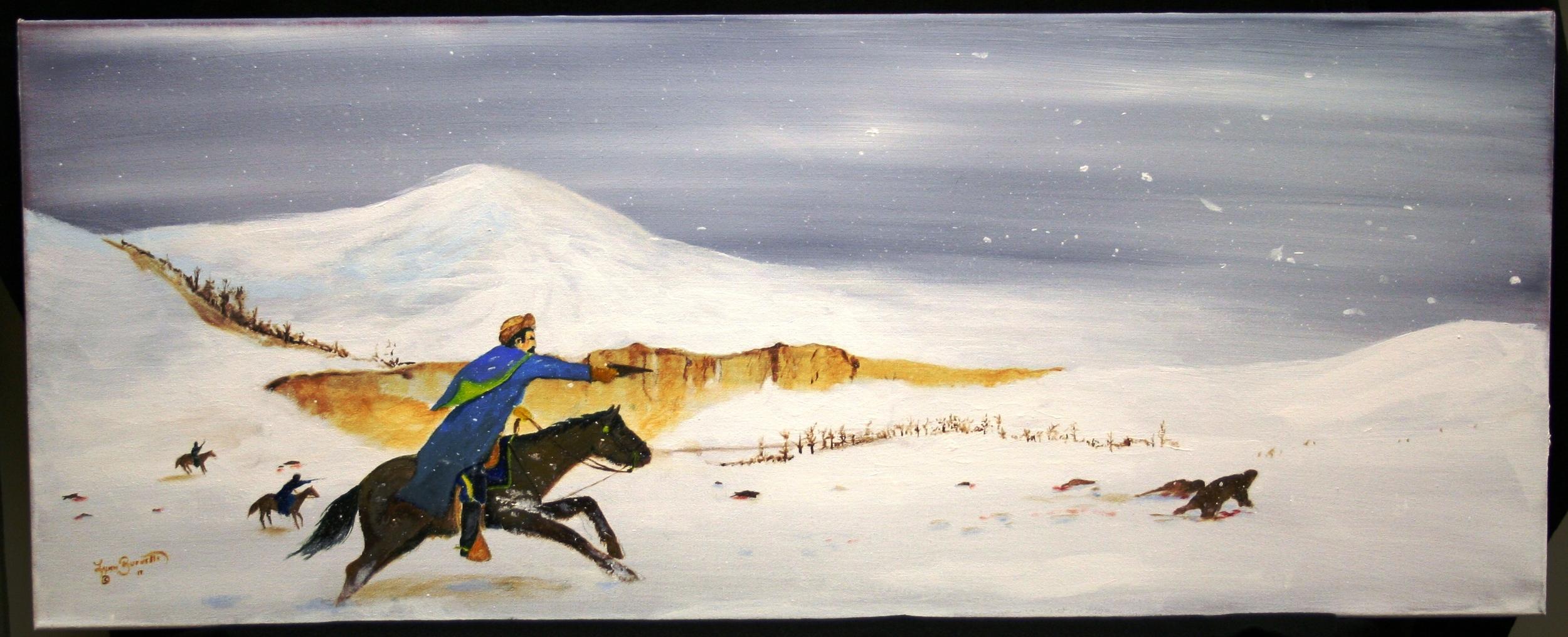 Lynn Burnette,  Wounded Knee