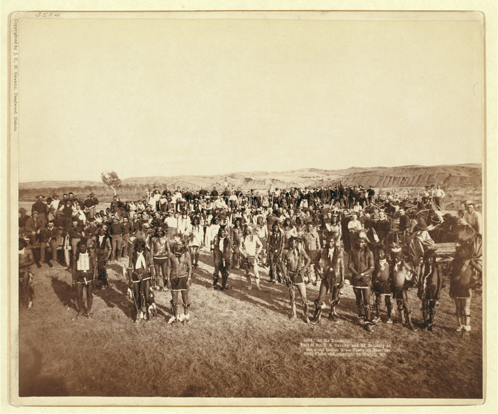 Ghost dancers on the Great Plains