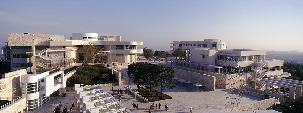 The Getty Center , Los Angeles, California