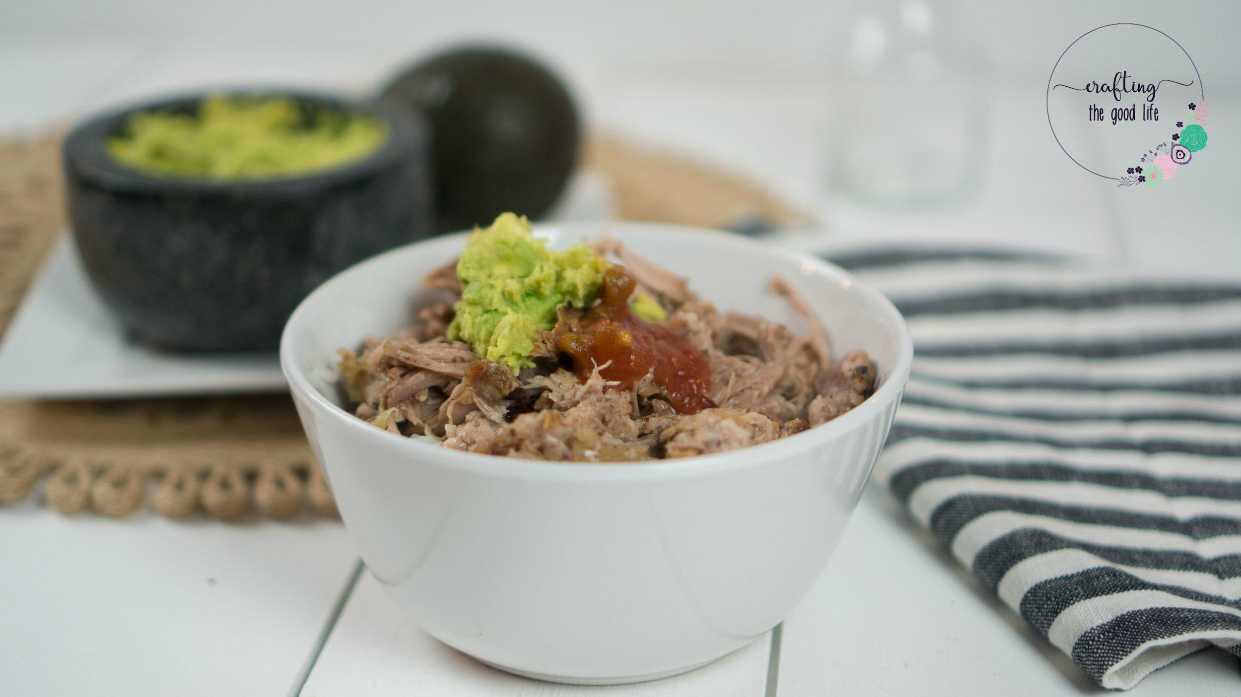 Slow-Cooker Pulled Pork Carnitas