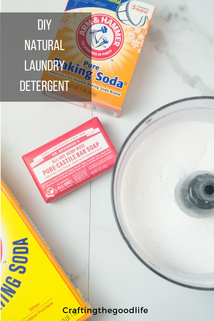 Easy DIY Natural Laundry Detergent