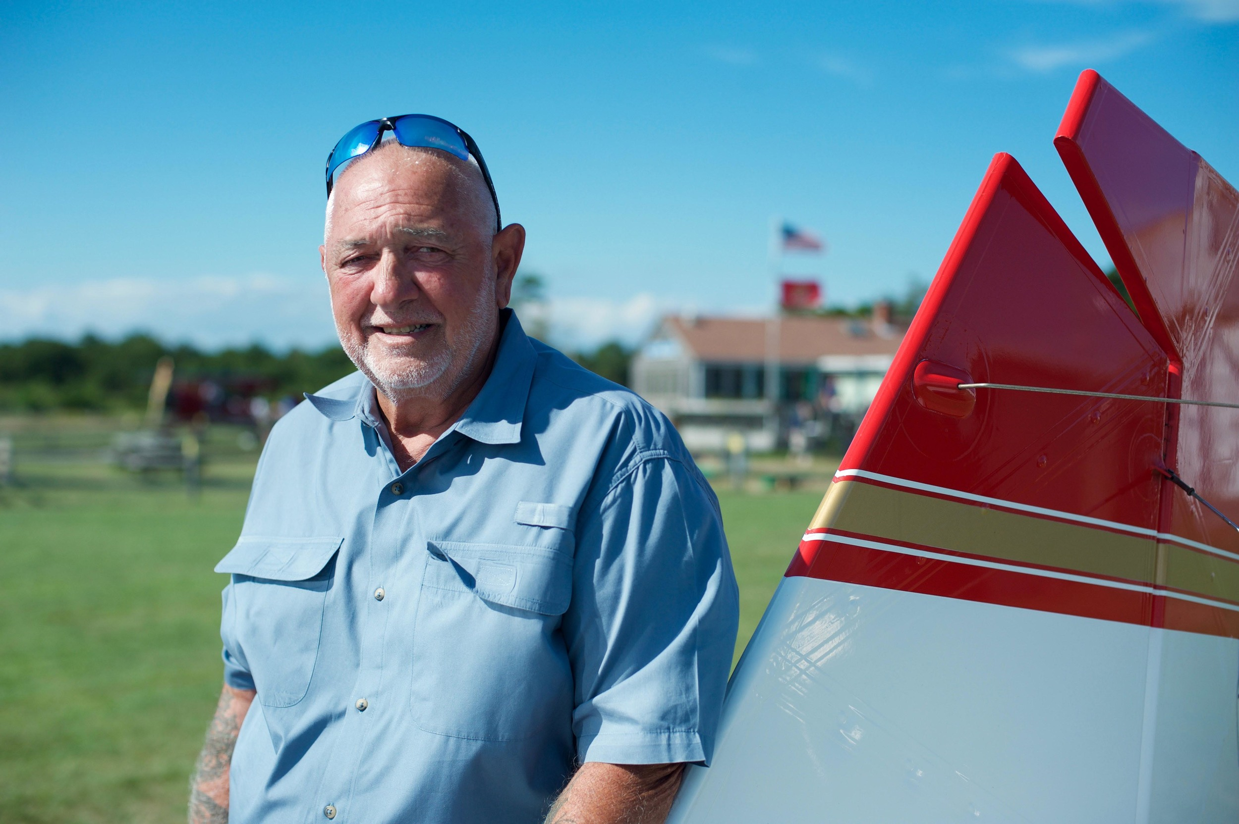 Captain Paul at Katama Airpark