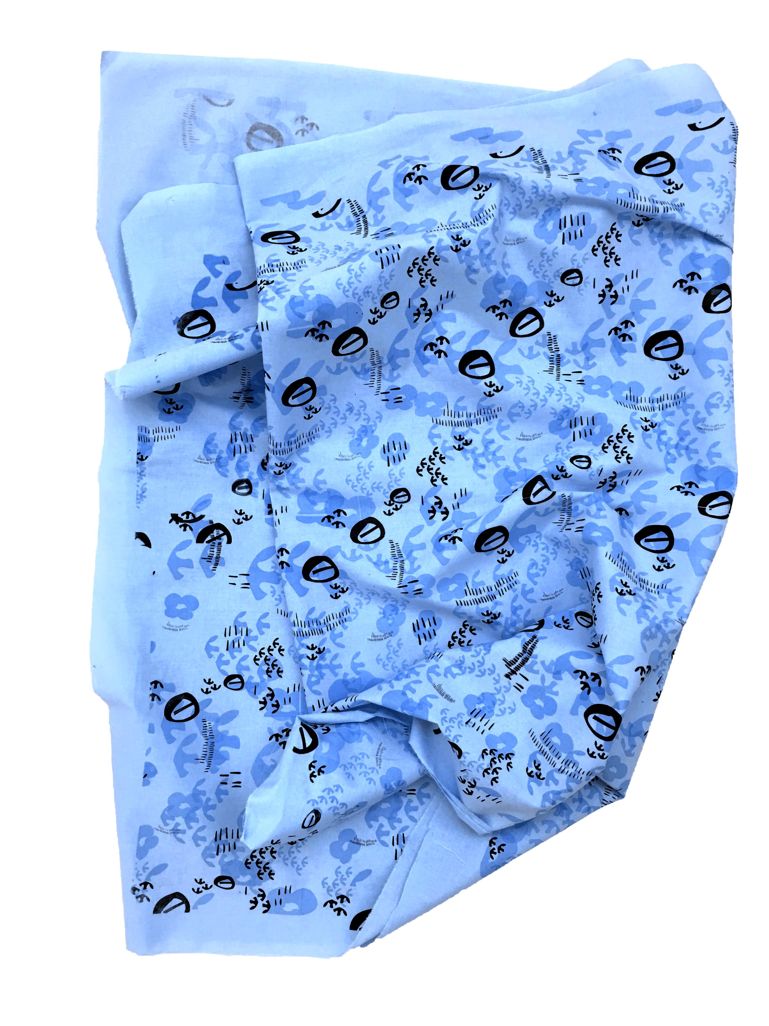 Final Screen Printed Fabric