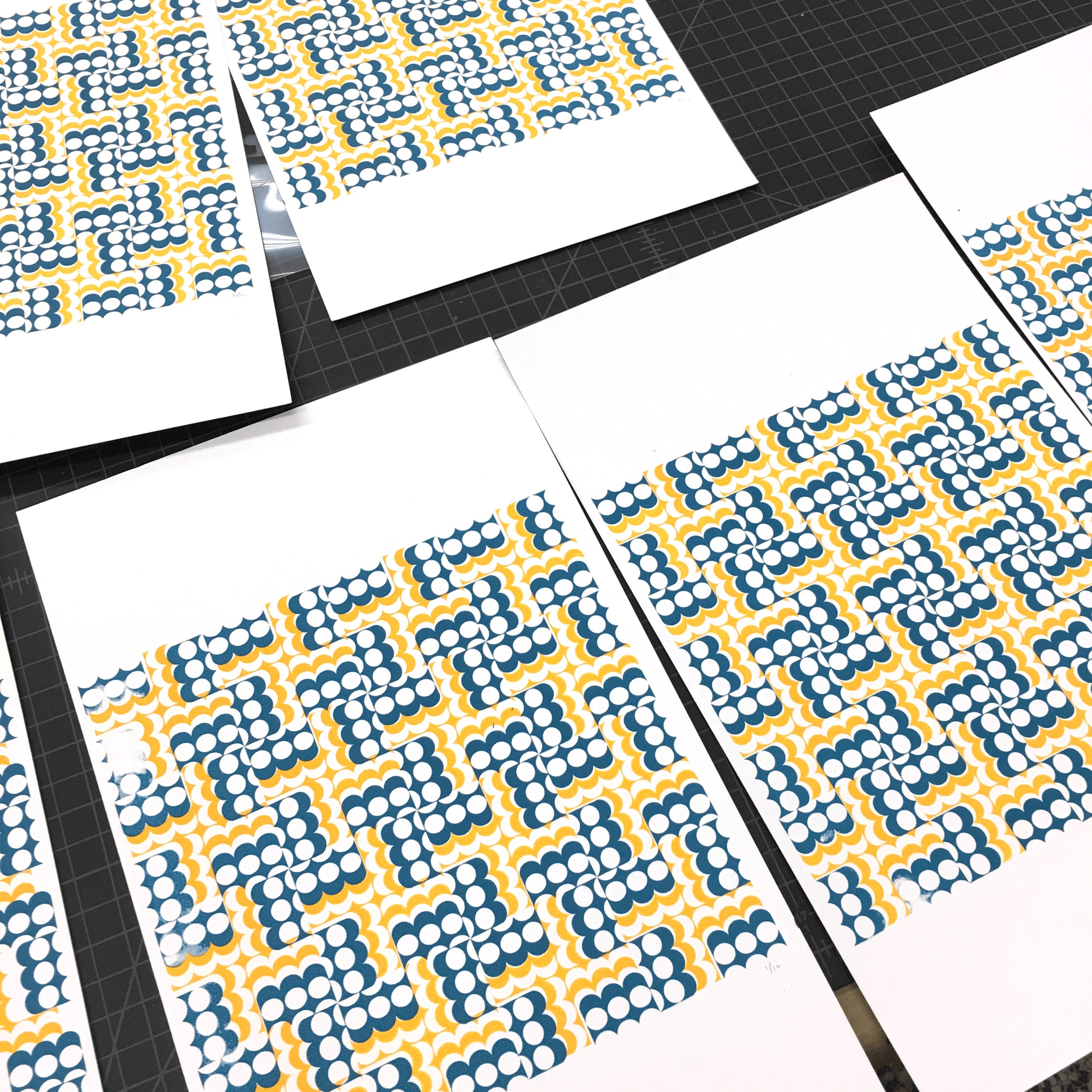 Learning to ScreenPrint, Trial Patterns Runs, Paper