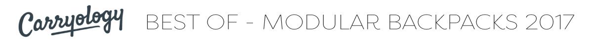 Carryology - Best of Modular Backpacks 2017