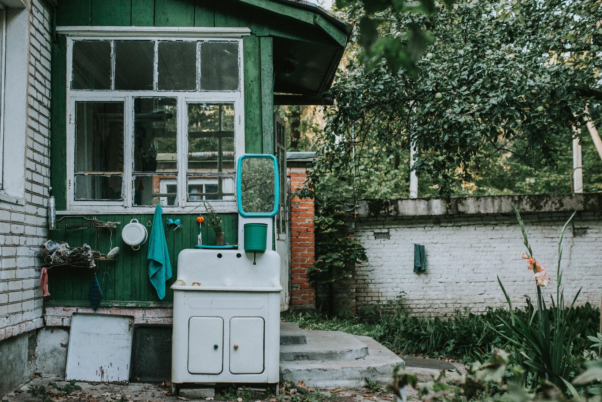 Dacha Sink | Abramtsevo -