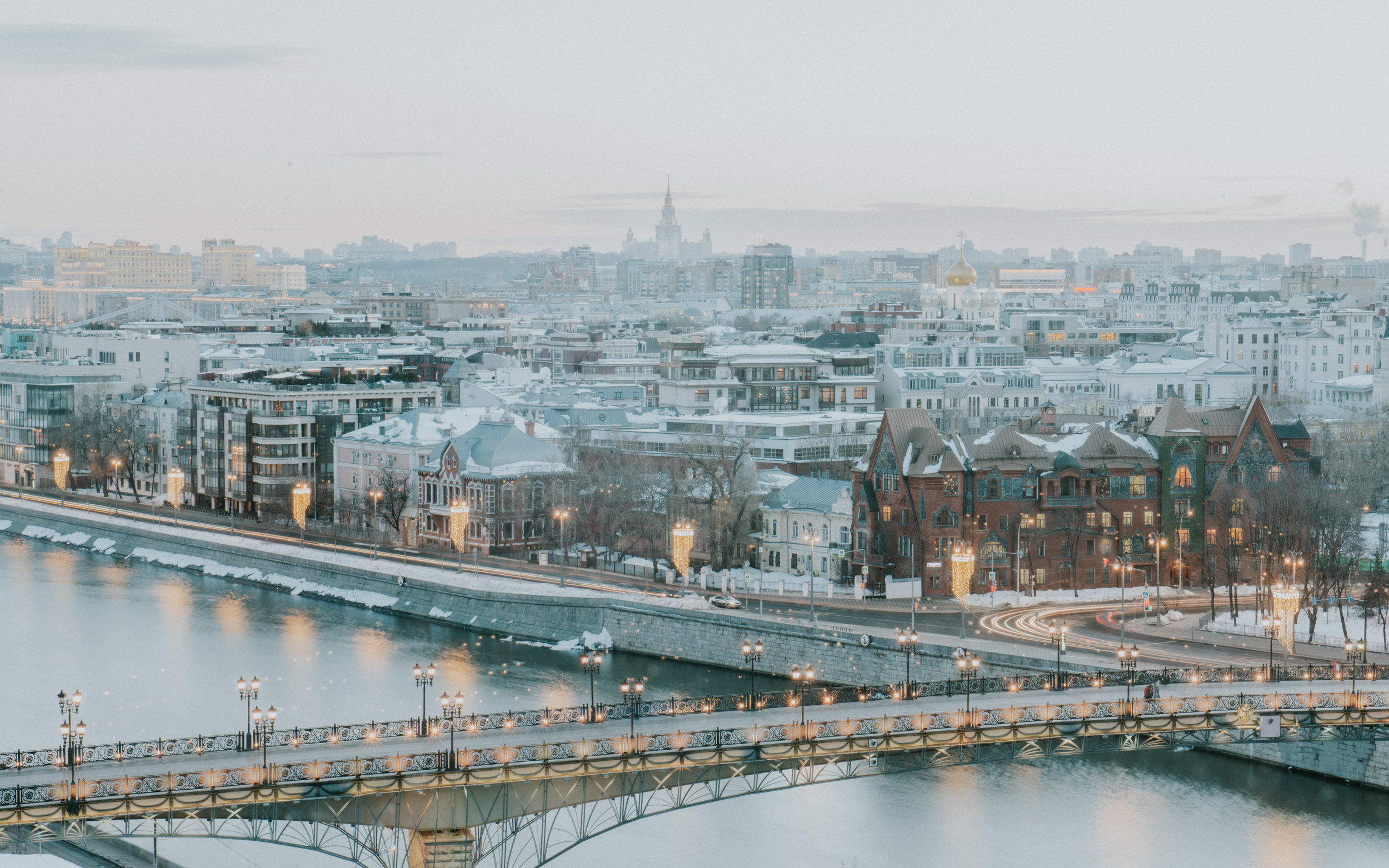 Winter in Moscow -