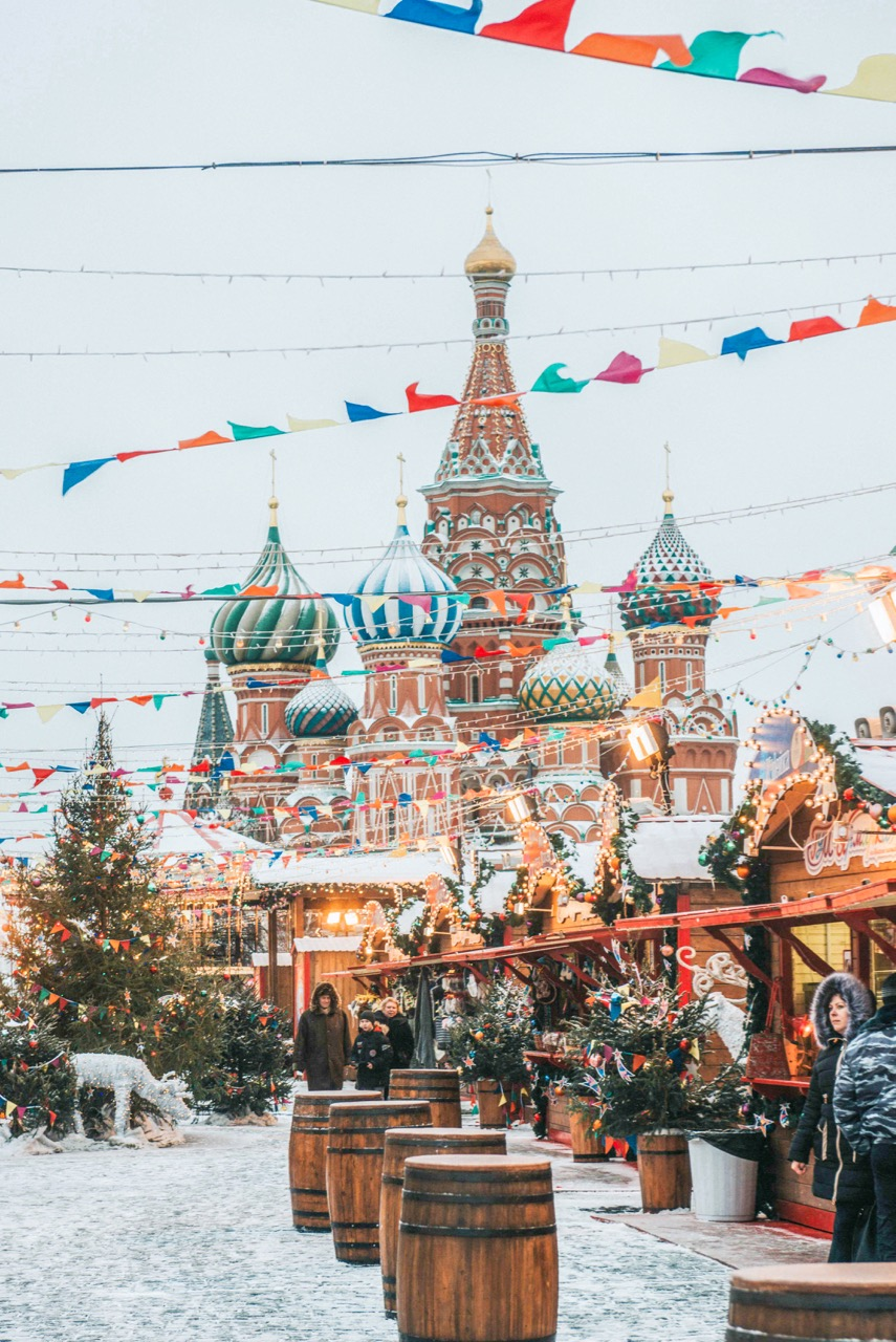 St. Basil's Market -