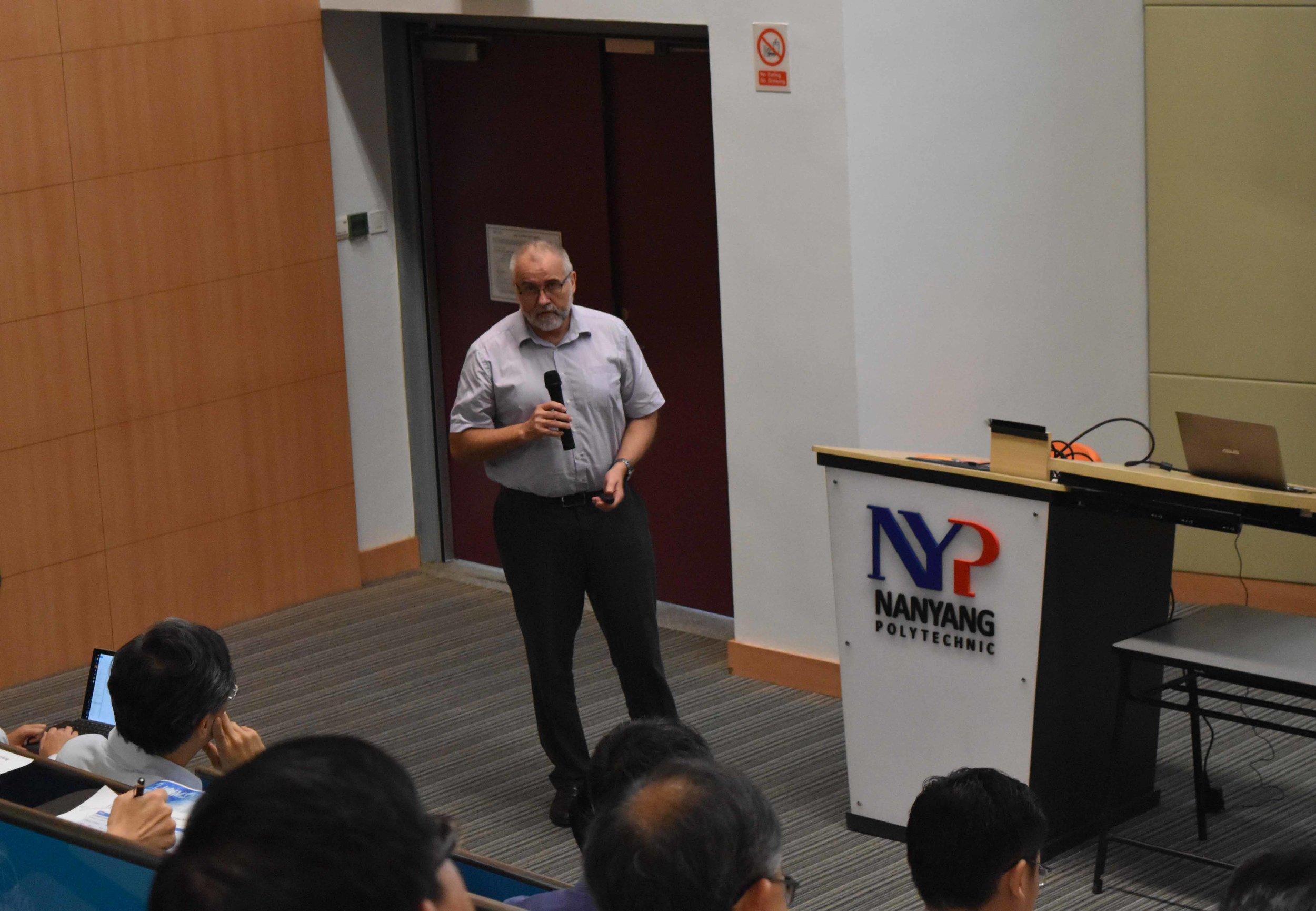 Mr Michael Donat of PHYSIK INSTRUMENTE