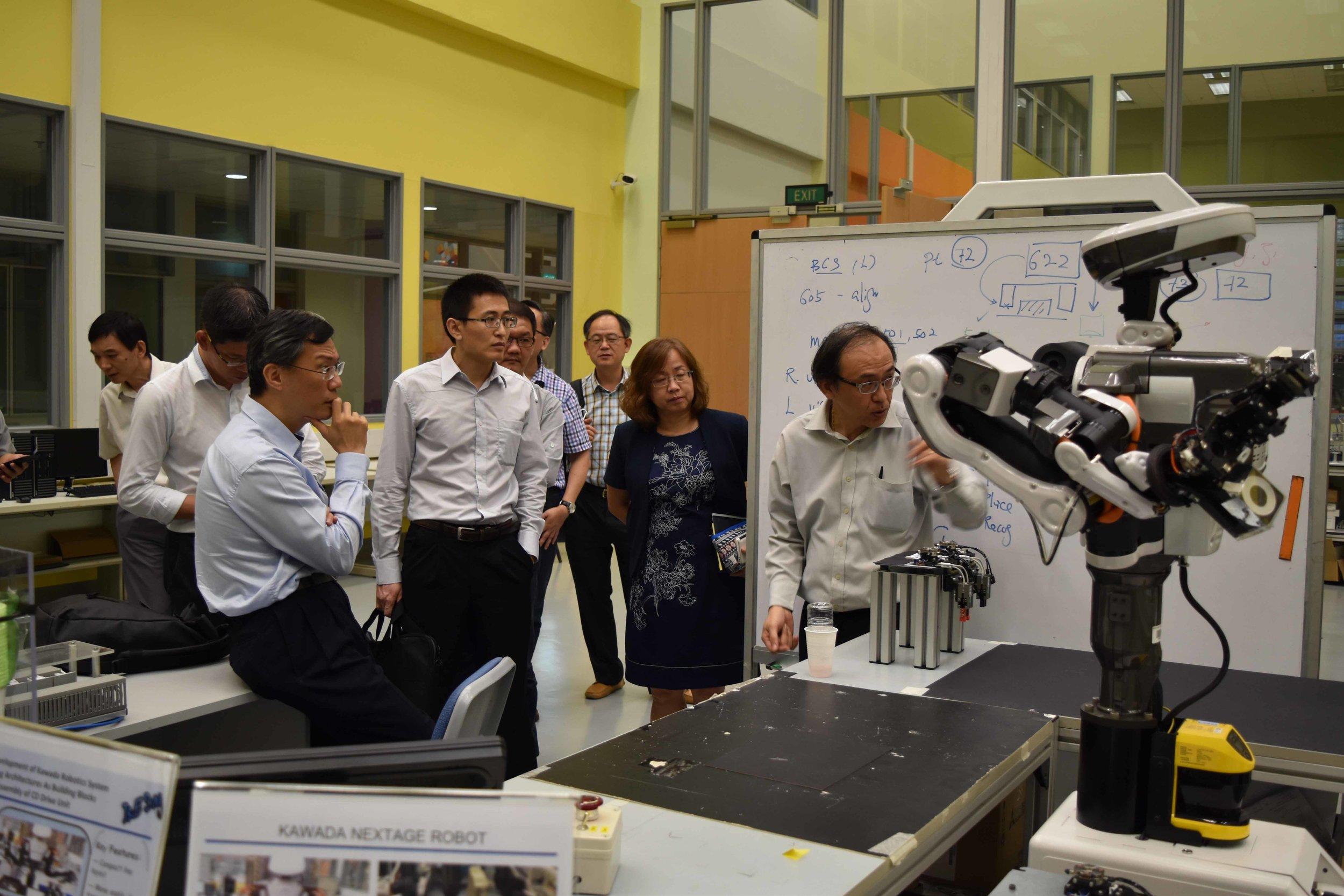 Automation & Robotics Innovation Centre, Nanyang Polytechnic