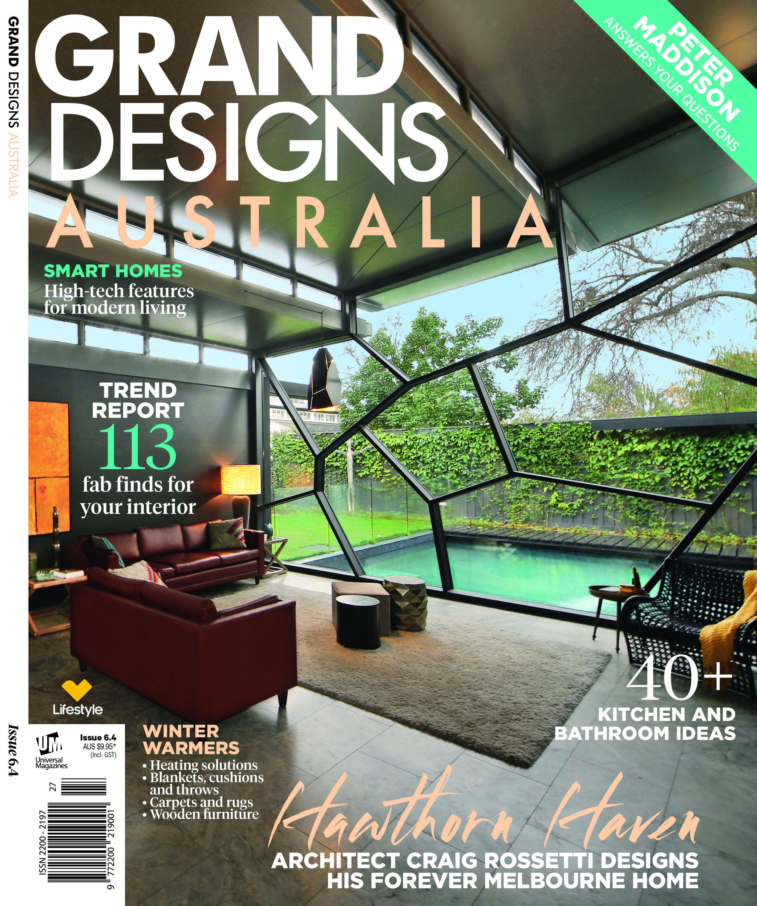 #VillaMQ in Australian Magazine GRAND DESIGNS  In English