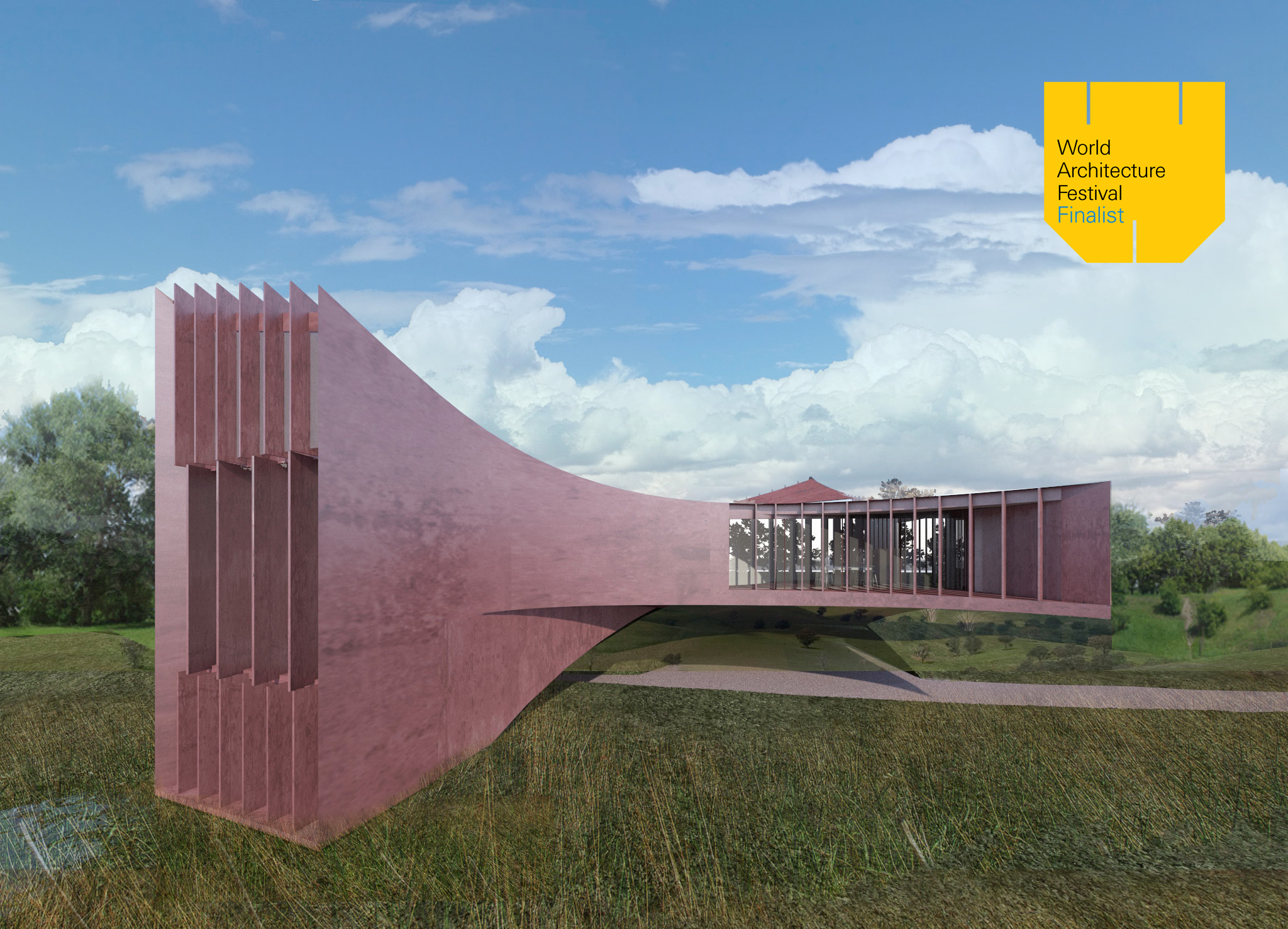 """Villa Sigma  has been selected as a  finalist  for  WAF Awards 2017  """" Best Building of 2017 """" #futureprojects    Architecture projects from 68 different countries have been shortlisted for awards at this year's World Architecture Festival. The winners will be announced in Berlin in November at the World Architecture Festival 2017."""