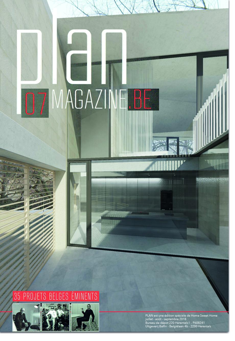 #VillaDtC in Plan Magazine 07   in French    in Dutch