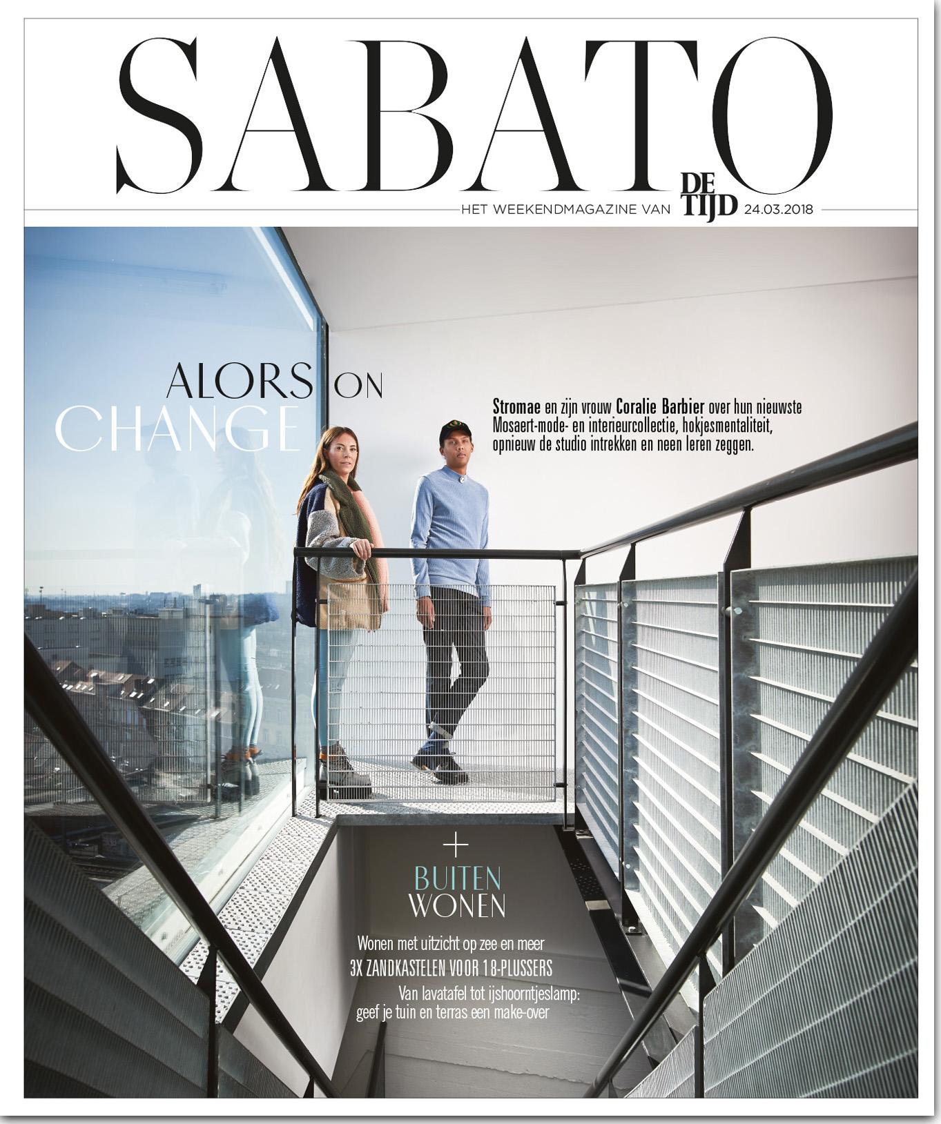 #VillaCD in Sabato Magazine - Zandkastelen voor 18-plussers  In Dutch