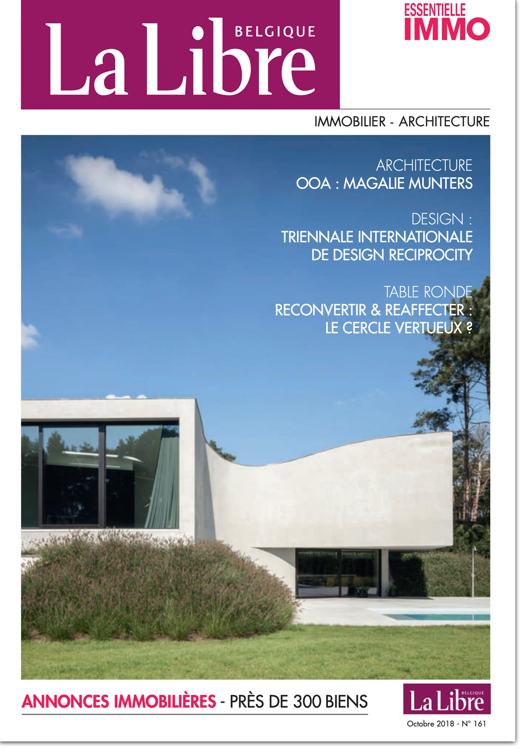 Interview in La Libre Belgique #VillaMQ #VillaCD  In French