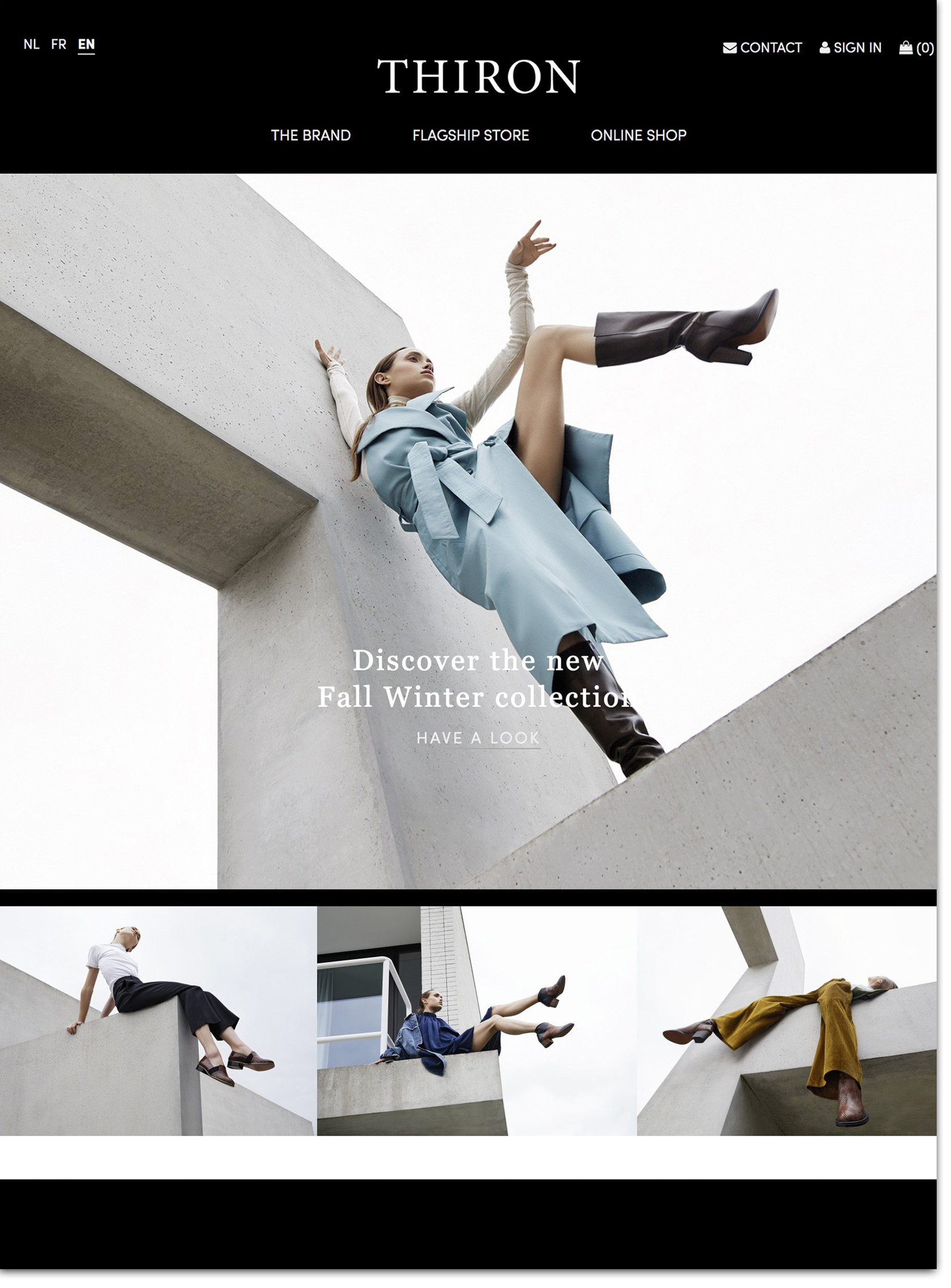 #VillaCD in the Fall / Winter '18-'19 Fashion Campaign for Thiron  by Marie Wynants