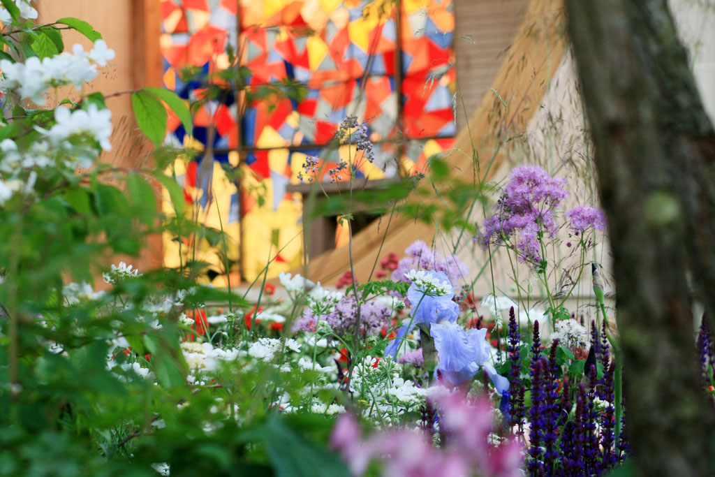 Detail from Matthew Wilson's  Garden for Yorkshire , RHS Chelsea Flower Show 2016