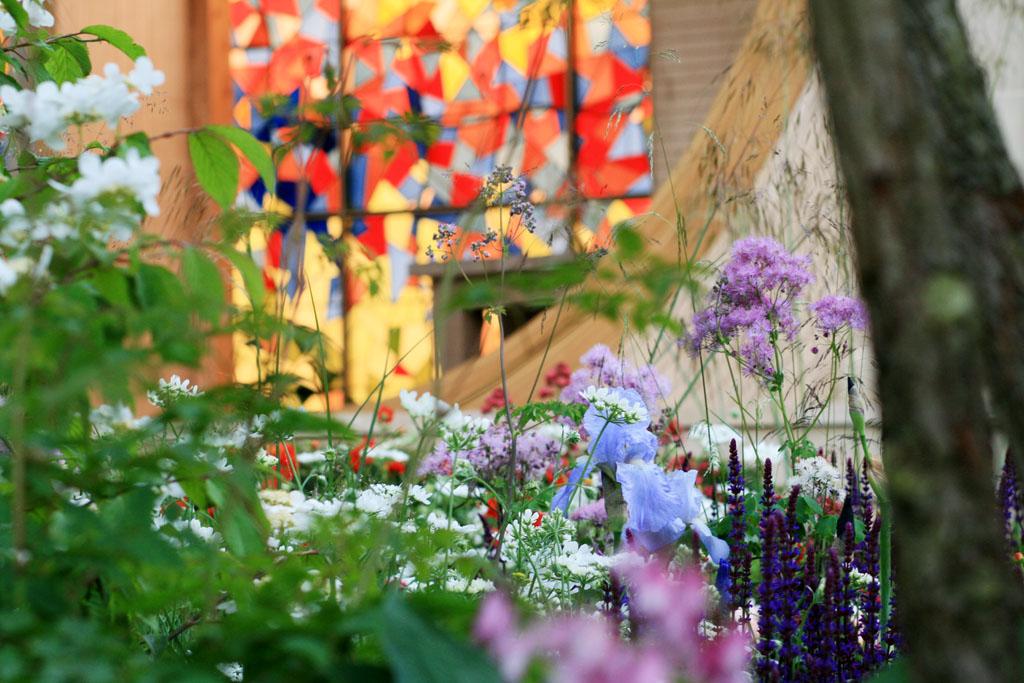 Detail from Matthew Wilson's  Garden for Yorkshire , RHS Chelsea Flower Show 2016