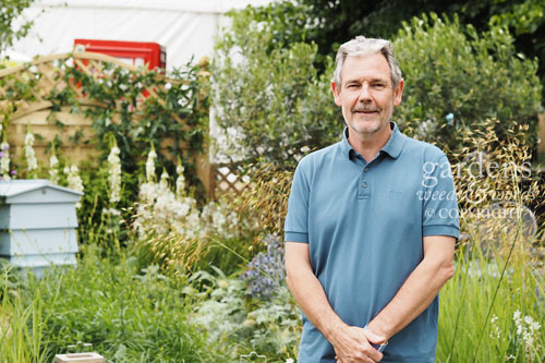 Steve Dimmock, designer of  The Drought Garden