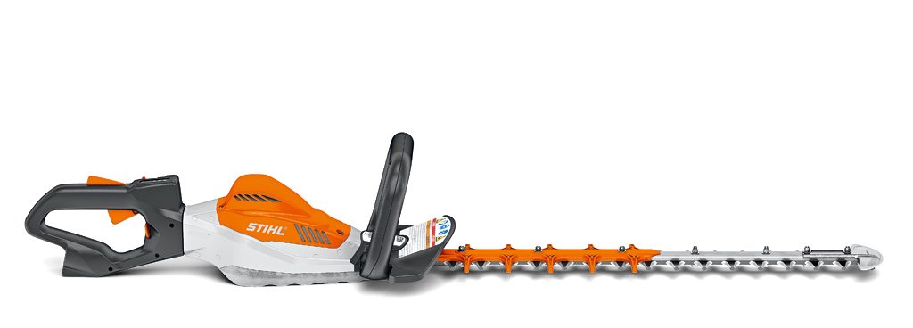 The Stihl HSA94R hedgetrimmer from the Lithium Ion PRO range of cordless tools