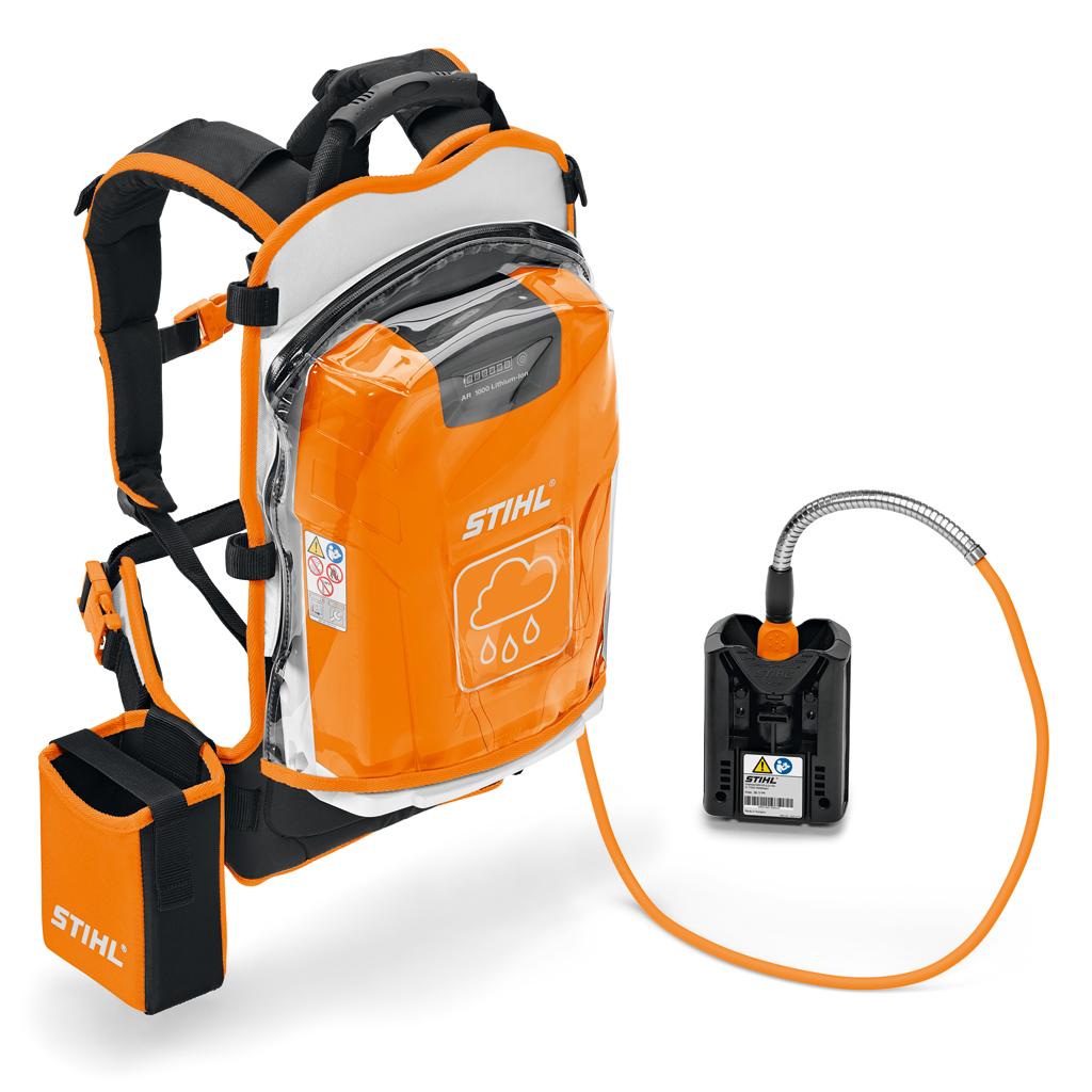 Stihl's high capacity backpack battery AR1000
