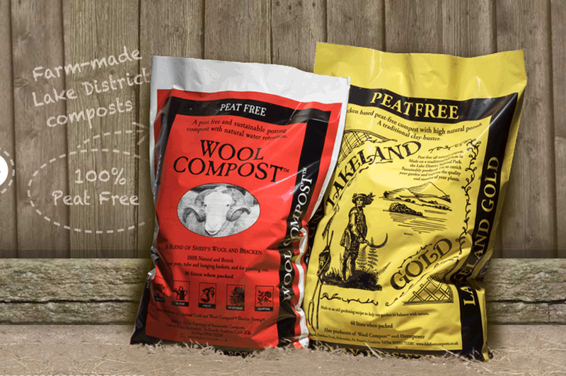 Peat free composts and growing media from Dalefoot Composts in the Lake District