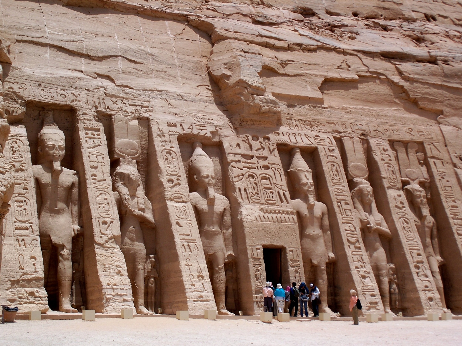 Temple of Queen Nefertari dedicated to Goddess Hathor