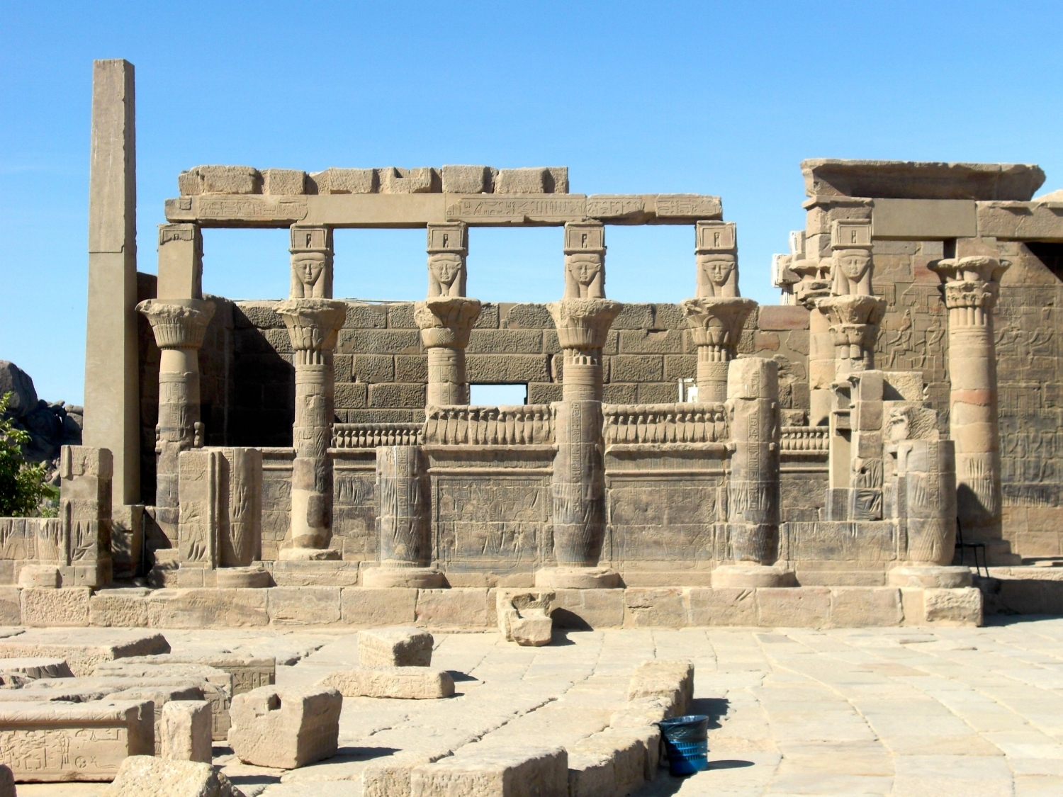 Hathor Chapel at Philae