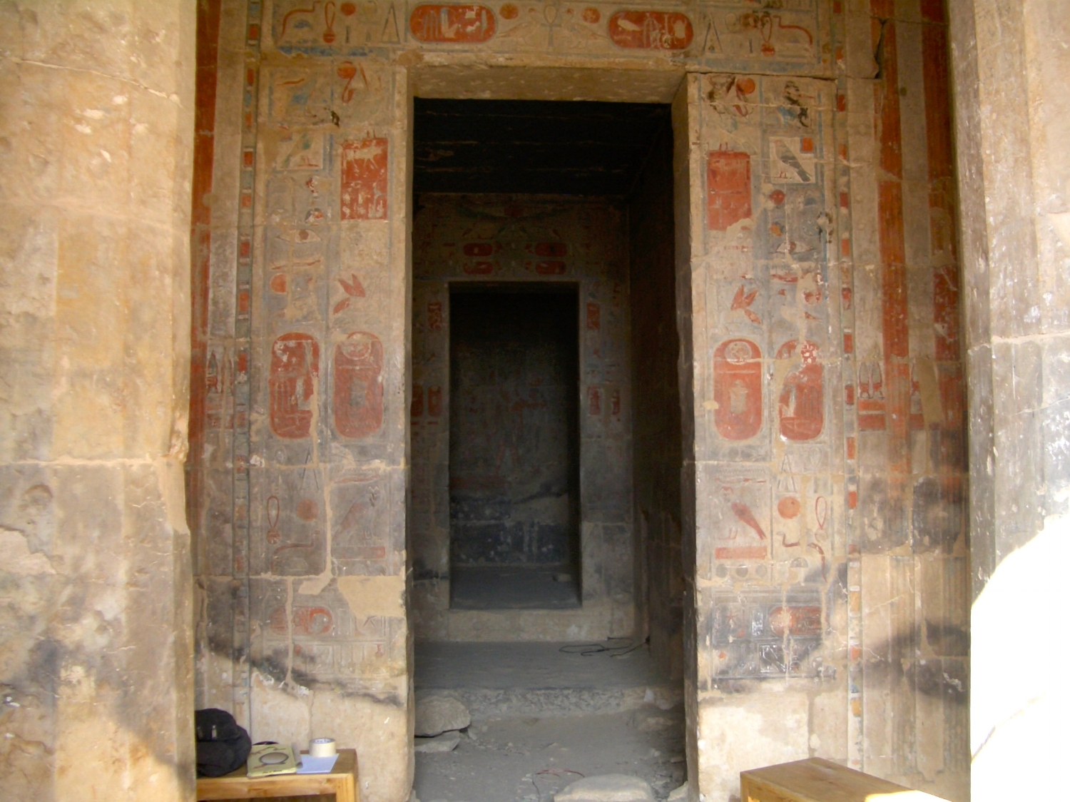Entrance to Anubis Temple