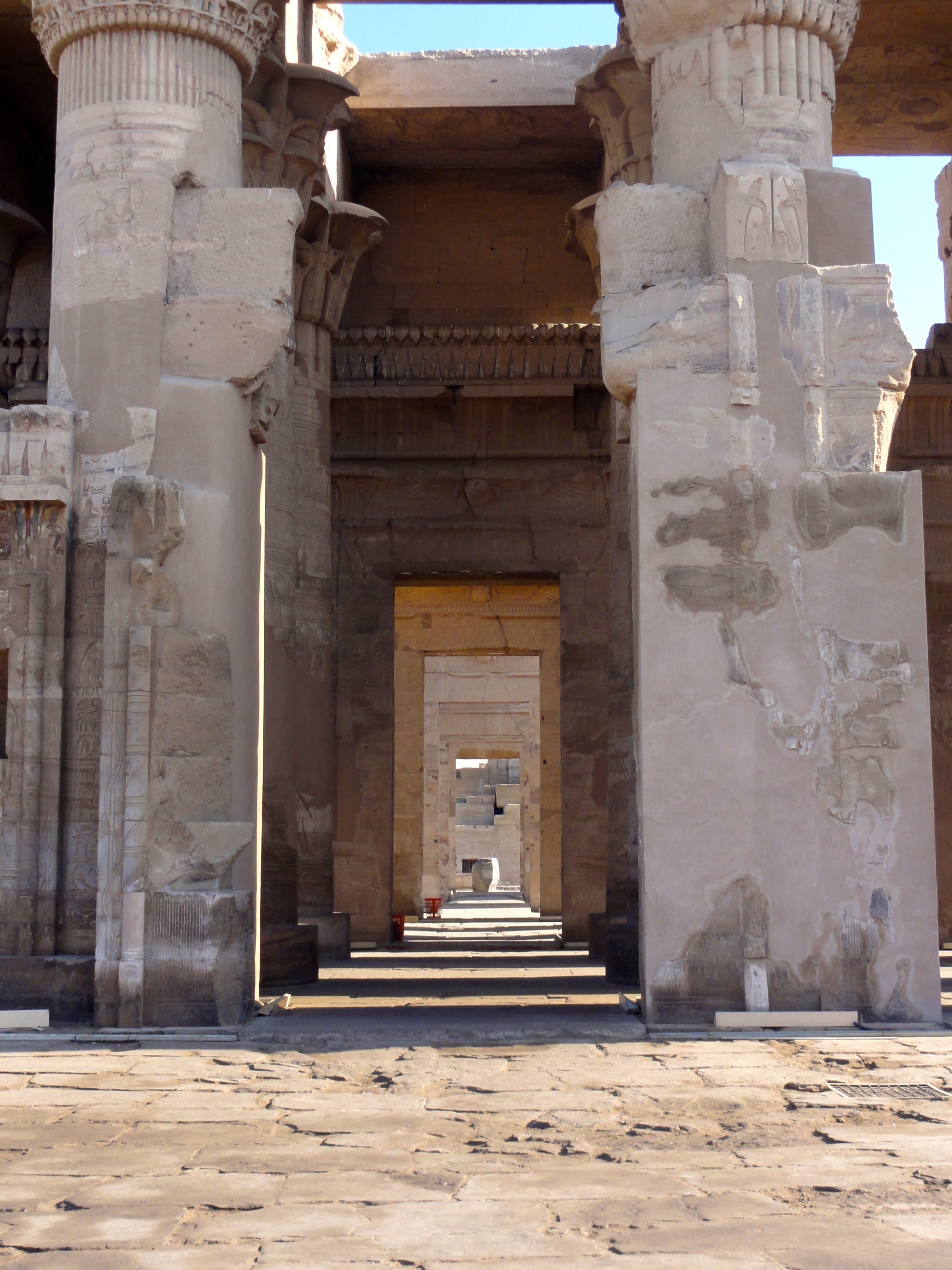 Doorway through to Holy of Holies